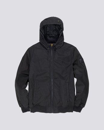 0 Dulcey - Hooded Jacket Black L1JKC2ELF8 Element