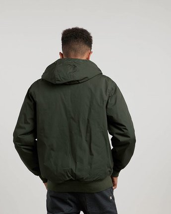 1 Dulcey - Hooded Jacket Green L1JKC2ELF8 Element