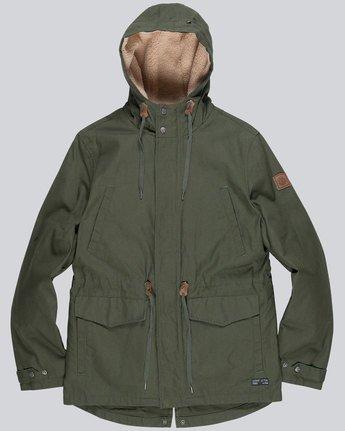 3 Roghan - Jacket for Men Green L1JKC8ELF8 Element