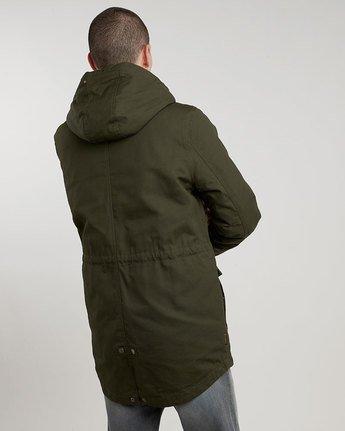 2 Roghan - Jacket for Men Green L1JKC8ELF8 Element