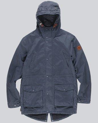 3 Roghan Plus - Jacket for Men Blue L1JKC9ELF8 Element