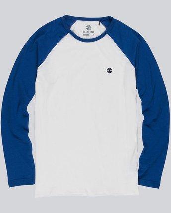 2 Blunt - Long Sleeve T-Shirt for Men White L1LSA8ELF8 Element