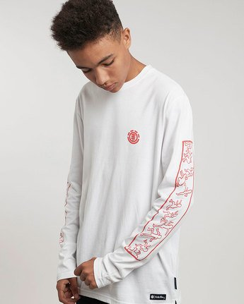 1 Kh Jump Ls Tee - Tee Shirt for Men  L1LSD4ELF8 Element