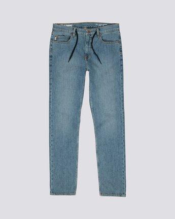 E02 - Slim Straight Fit Jeans for Men  L1PNA2ELF8