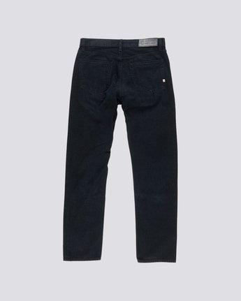 1 E03 - Regular Fit Jeans for Men Black L1PNA3ELF8 Element