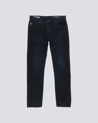 0 E03 - Jean Regular Fit pour Homme Noir L1PNA3ELF8 Element