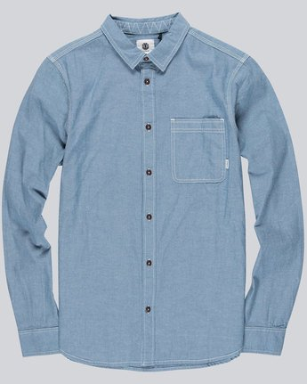 3 Preston Ls - Shirt for Men  L1SHB2ELF8 Element