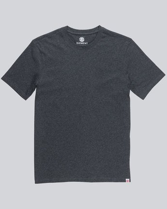 2 Basic Crew Ss - Tee Shirt for Men  L1SSA1ELF8 Element