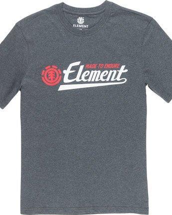 4 Signature Ss - Tee Shirt for Men Grey L1SSA8ELF8 Element