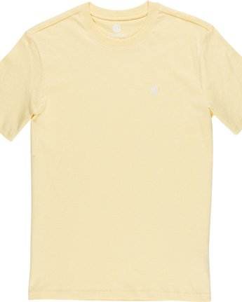 4 Crail - Short Sleeve T-Shirt for Men Yellow L1SSE5ELF8 Element