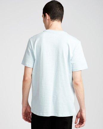 2 Crail - Short Sleeve T-Shirt for Men Blue L1SSE5ELF8 Element