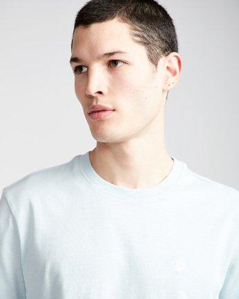 1 Crail - Short Sleeve T-Shirt for Men Blue L1SSE5ELF8 Element