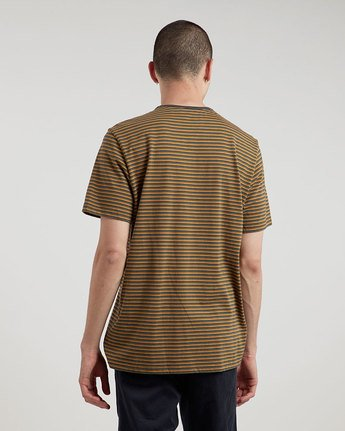 1 Striped Cr Ss Tee - Knit for Men  L1SSE9ELF8 Element