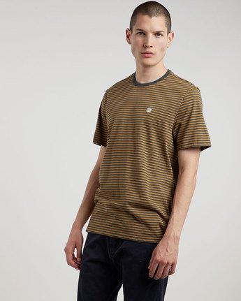 0 Striped Cr Ss Tee - Knit for Men  L1SSE9ELF8 Element