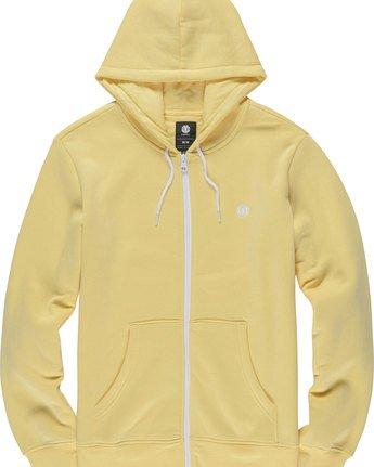 4 Cornell Classic - Zip-Up Hoodie for Men Yellow L1ZHA1ELF8 Element