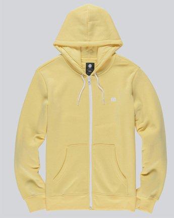 3 Cornell Classic - Zip-Up Hoodie for Men Yellow L1ZHA1ELF8 Element