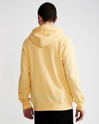 2 Cornell Classic - Zip-Up Hoodie for Men Yellow L1ZHA1ELF8 Element