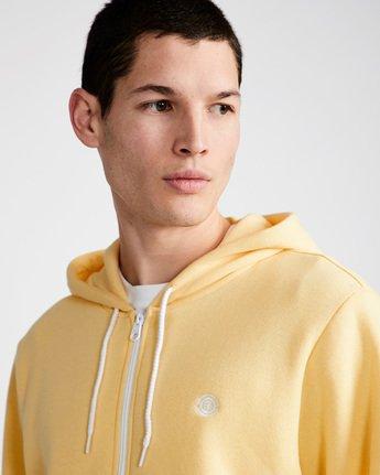 1 Cornell Classic - Zip-Up Hoodie for Men Yellow L1ZHA1ELF8 Element