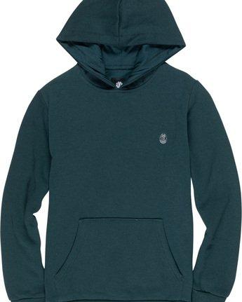1 Cornell Classic Boy - Hoodie Green L2HOA6ELF8 Element