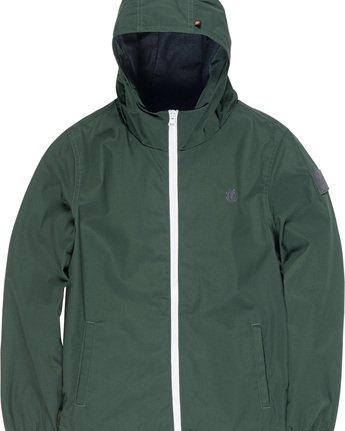1 Alder Boy - Hooded Jacket Green L2JKA2ELF8 Element