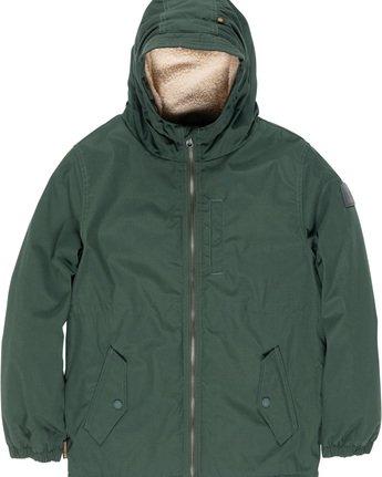 1 Stark Boy - Jacket for Boys Green L2JKA4ELF8 Element
