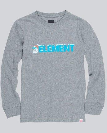 0 Snow Ls Boy 1 - Tee Shirt for Boys  L2LSA7ELF8 Element