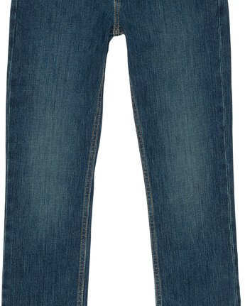 2 E01 Boy - Denim Jeans Blue L2PNA1ELF8 Element