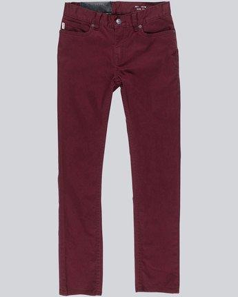 E01 Boy Color - Denim Jeans  L2PNA2ELF8