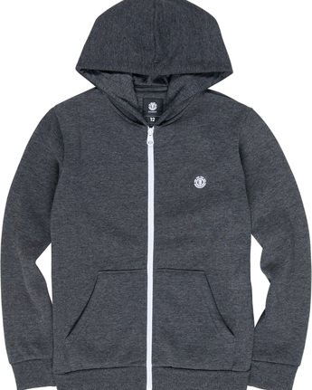 1 Cornell Classic Boy - Zip-Up Hoodie Grey L2ZHA1ELF8 Element