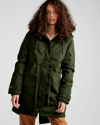 Curious Twill - Jacket for Women  L3JKA8ELF8