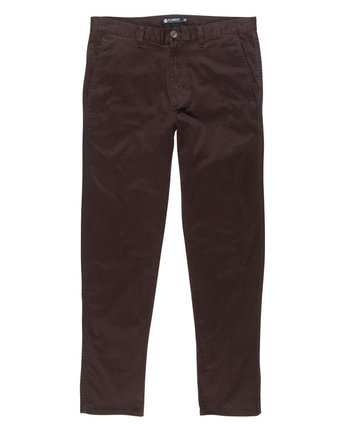 1 Howland Classic Flex Pant Brown M304GHOW Element