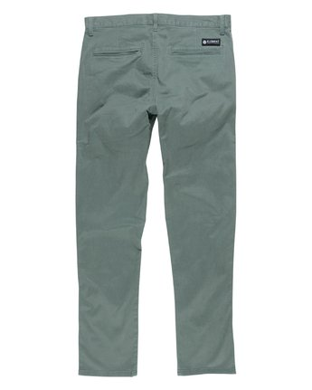 3 Howland Classic Flex Pant Green M304GHOW Element