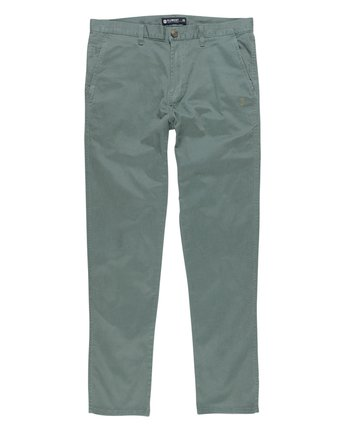 2 Howland Classic Flex Pant Green M304GHOW Element