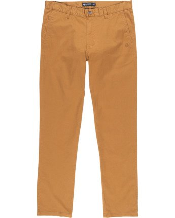 2 Howland Classic Chino Pant Brown M3373EHO Element
