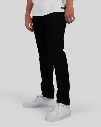 3 E01 Flex Jeans Black M390LE01 Element