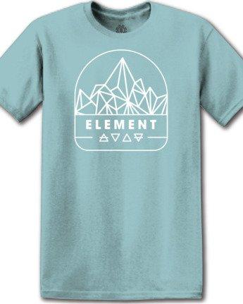 1 Summit Point T-Shirt Green M4012ESU Element