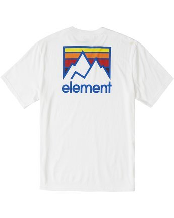 2 Joint T-Shirt White M4013EJO Element