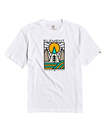 1 Logel T-Shirt White M4013ELG Element
