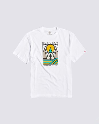 0 Logel T-Shirt White M4013ELG Element