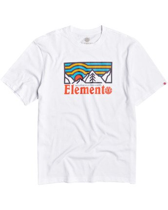 1 Wander T-Shirt White M4013EWA Element