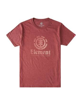 0 Vert Push T-Shirt Red M401HVEM Element
