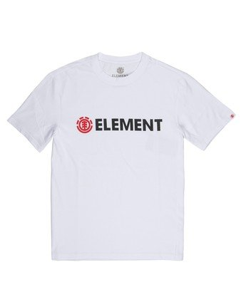 1 Blazin T-Shirt White M401QEBL Element