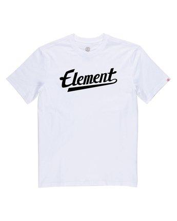 1 Script Tee White M401QESC Element