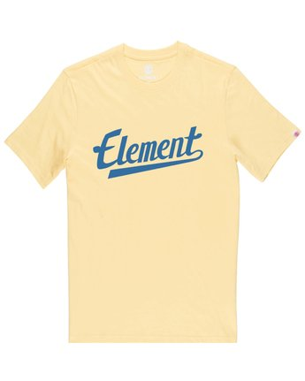 1 Script Tee Yellow M401QESC Element