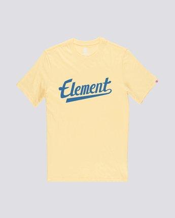0 Script Tee Yellow M401QESC Element