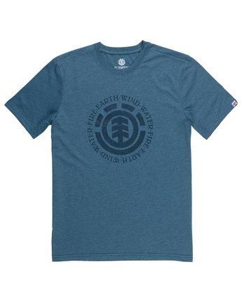 1 Seal T-Shirt Grey M401QESE Element