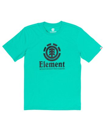 1 Vertical T-Shirt Green M401QEVE Element