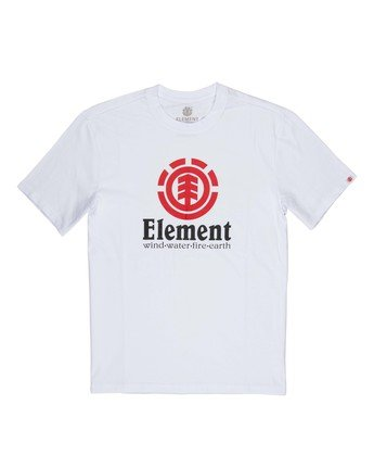 1 Vertical Tee White M401QEVE Element