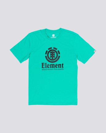 0 Vertical T-Shirt Green M401QEVE Element