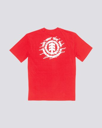 1 Liquid Icon Tee Red M401VELI Element